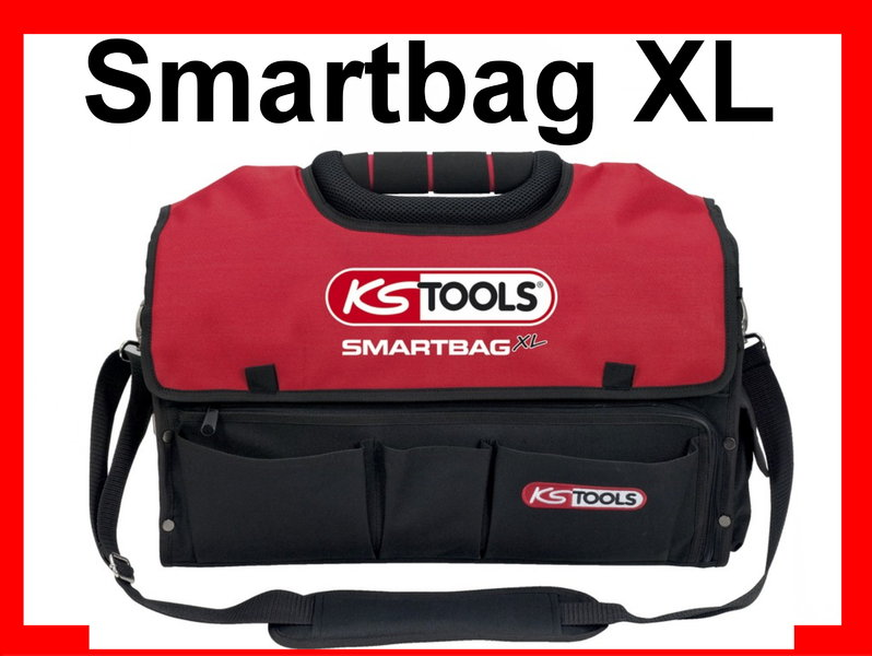 ks tools smartbag xl werkzeugtasche werkzeugkoffer. Black Bedroom Furniture Sets. Home Design Ideas