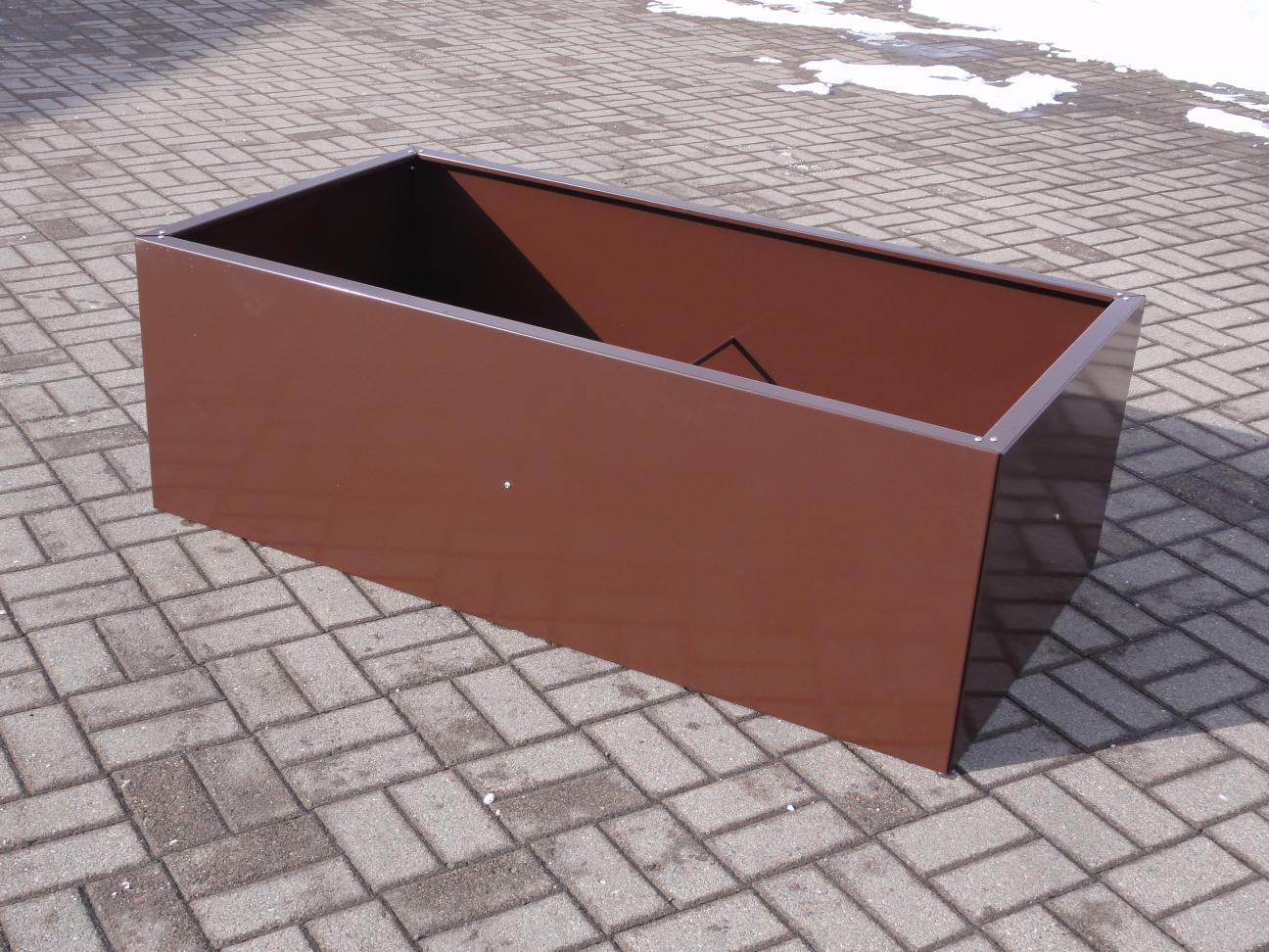 hochbeet urban aus metall f r jeden garten und jede terasse. Black Bedroom Furniture Sets. Home Design Ideas