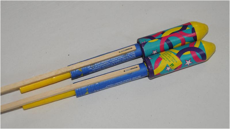 Silvester Rakete