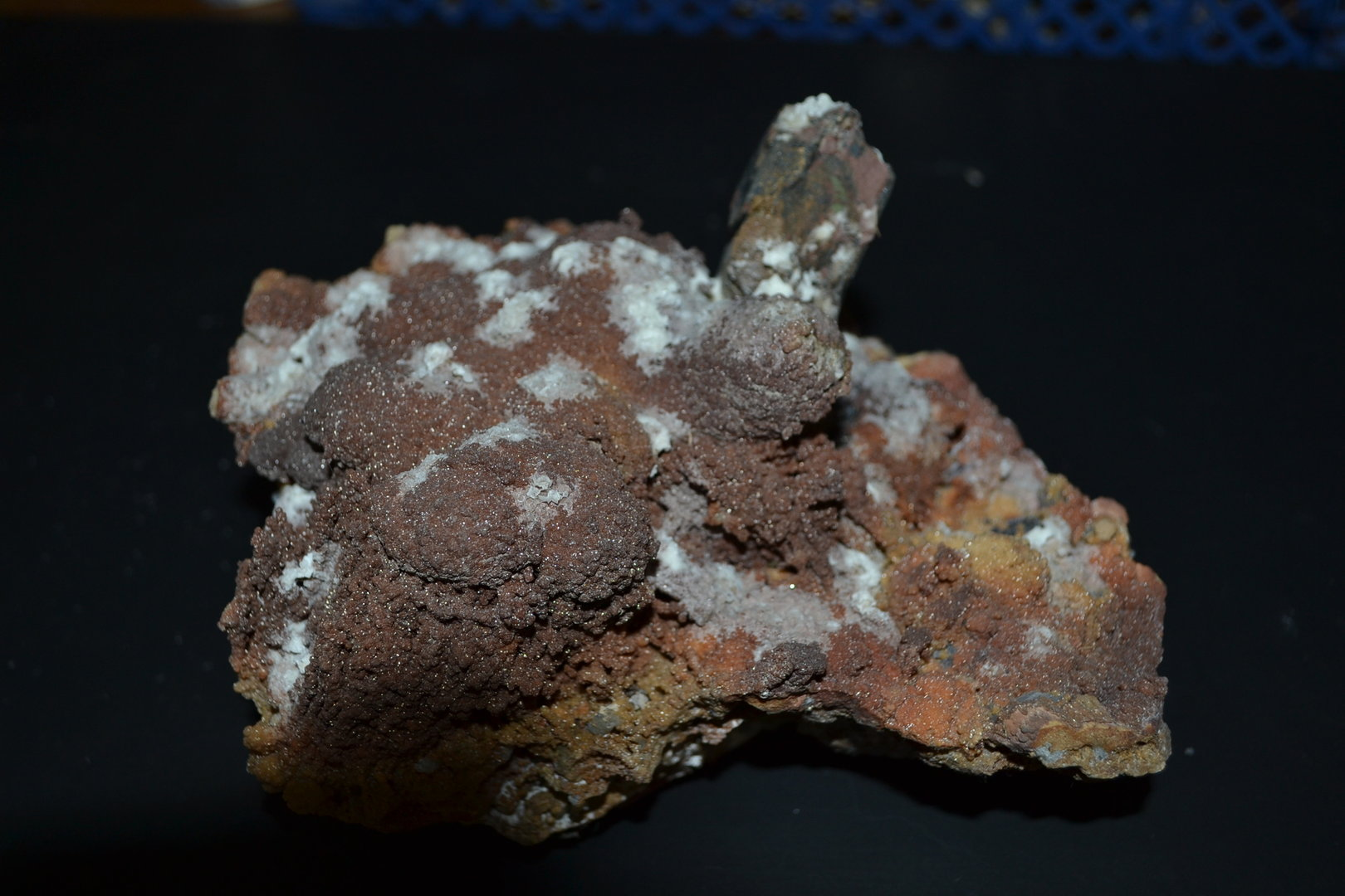 vivianite on siderite  Cavnik Romania