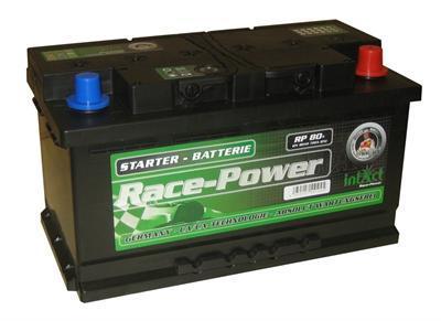 80ah intact racepower batterie calcium autobatterie. Black Bedroom Furniture Sets. Home Design Ideas