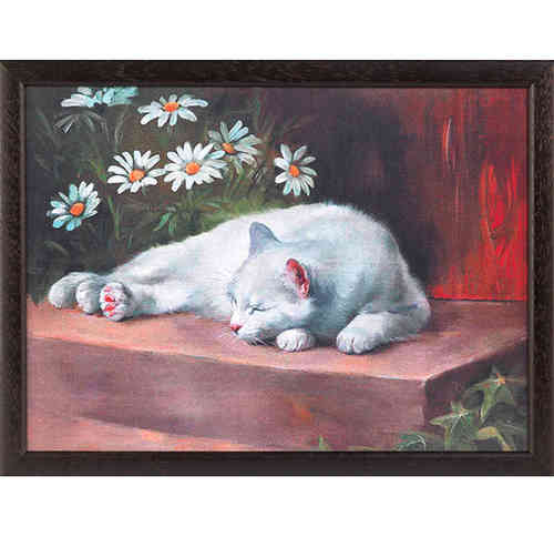 Andrew´s Knietablett Daisy Cat CTDaisy Laptray Kissen