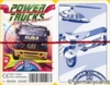 (S) Quartett Kartenspiel *FX Schmid 1998* POWER TRUCKS