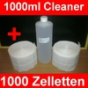 1000ml Cleaner Nagelcleaner + 1000 Zelletten Sparset !!