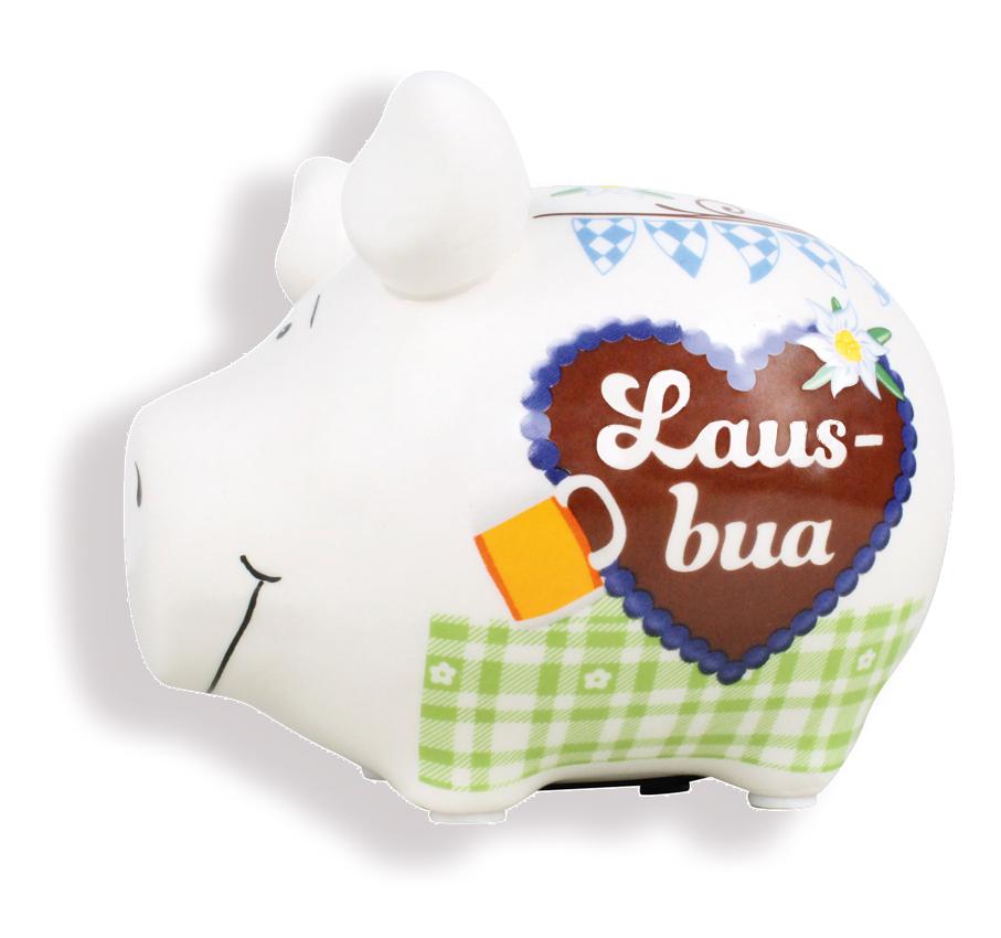 Sparschwein mit Herz Spardose Sparbüchse aus Keramik Kasse Geldgeschenke