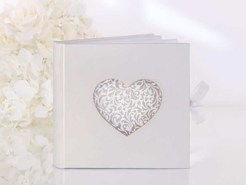 Gästebuch Hochzeit Hochzeitsgästebuch mit edlem Herz