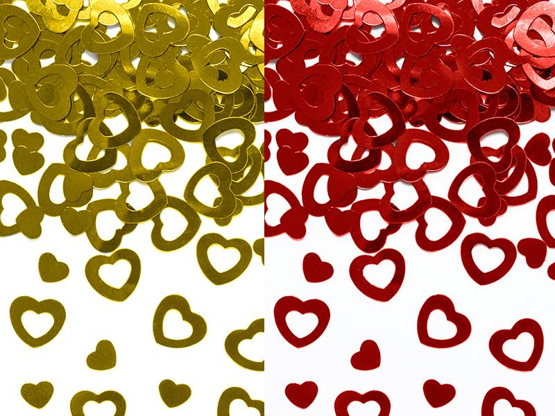 Streudeko Tischdeko Herz Herzen Hochzeit Valentinstag