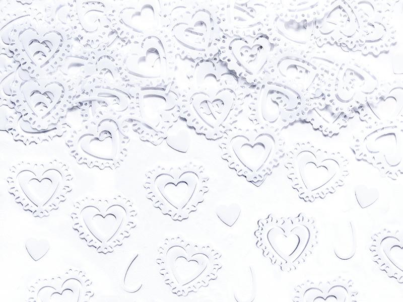 Tischdeko mit Herz