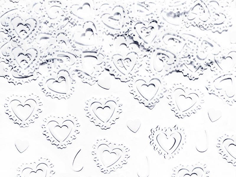 Streudeko Tischdeko Herz Herzen Valentinstag Hochzeit
