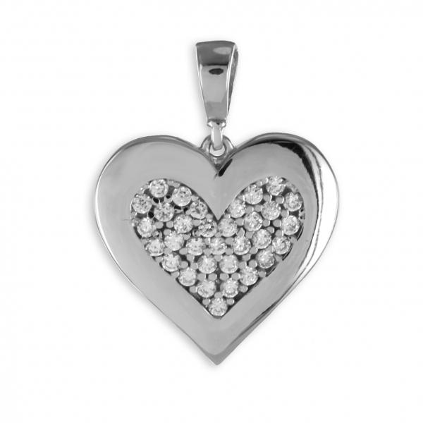 Anhänger_925 Silber_Herz