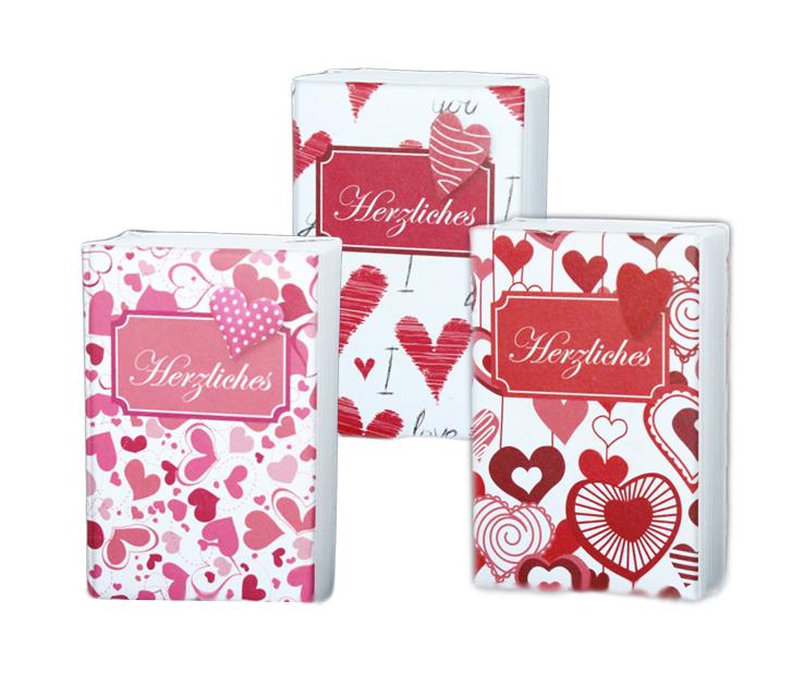 Schafmilchseife Seife mit Herzverpackung als Geburtstagsgeschenk Muttertag Liebe