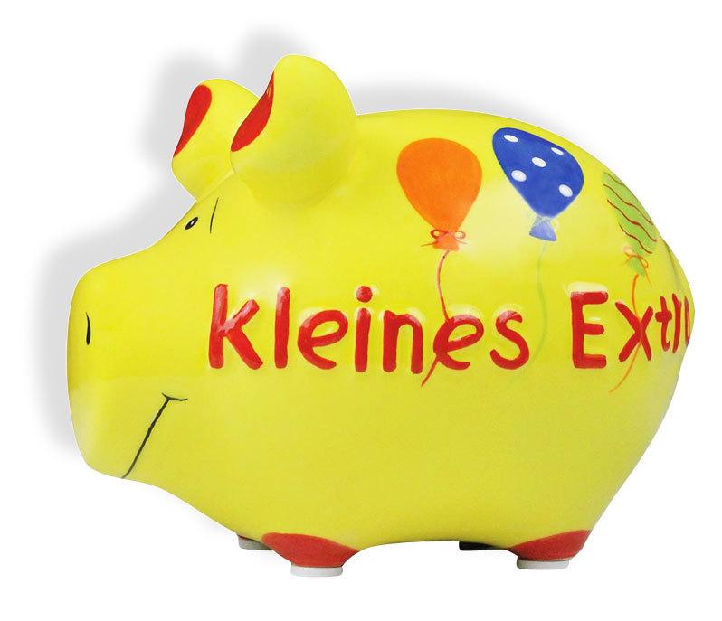 Sparschwein Spardose Sparbüchse Keramik Hochzeit Geldgeschenk - Kleines Extra