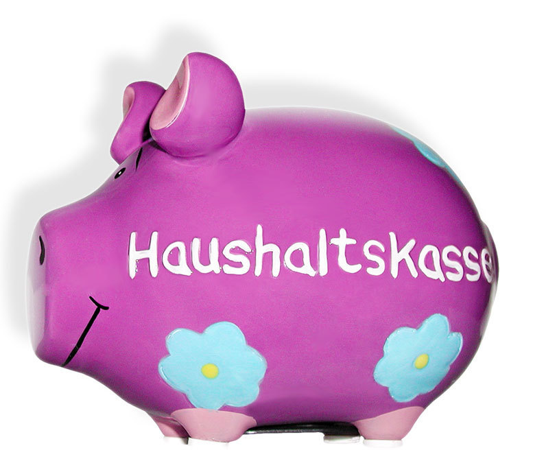 Sparschwein Spardose Sparbüchse Keramik Hochzeit Geldgeschenk - Haushaltskasse