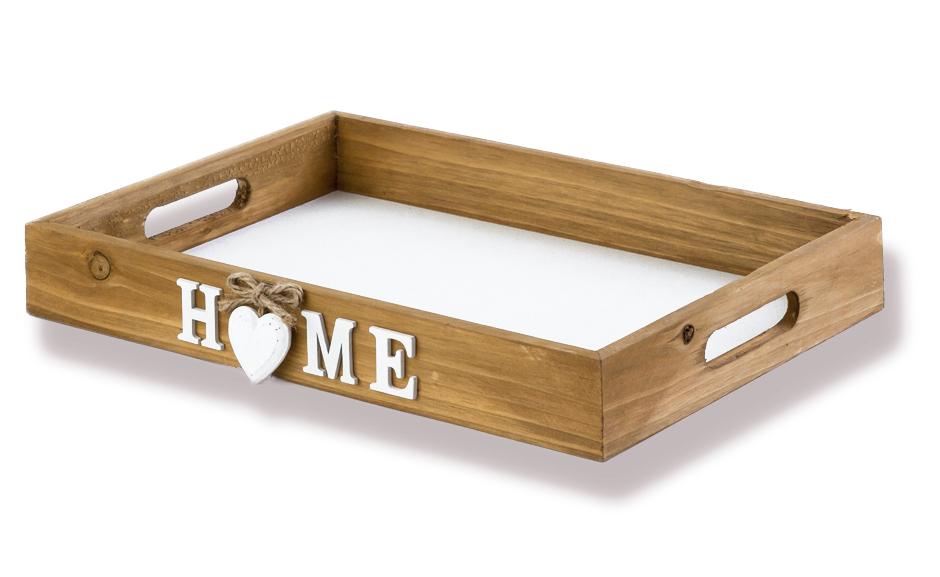 Fruhstuckstablett Tablett Serviertablett Mit Herz Design Holz