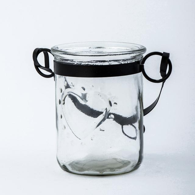 Windlichtglas Teelichthalter Windlicht Tischdeko