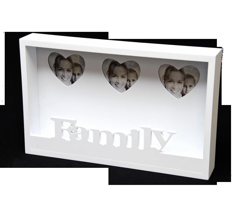 Bilderrahmen-Ablage - Family