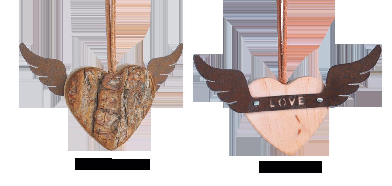 Herz mit Flügel Love