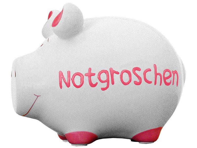 Sparschwein Notgroschen Spardose Sparbüchse Keramik Geldgeschenk