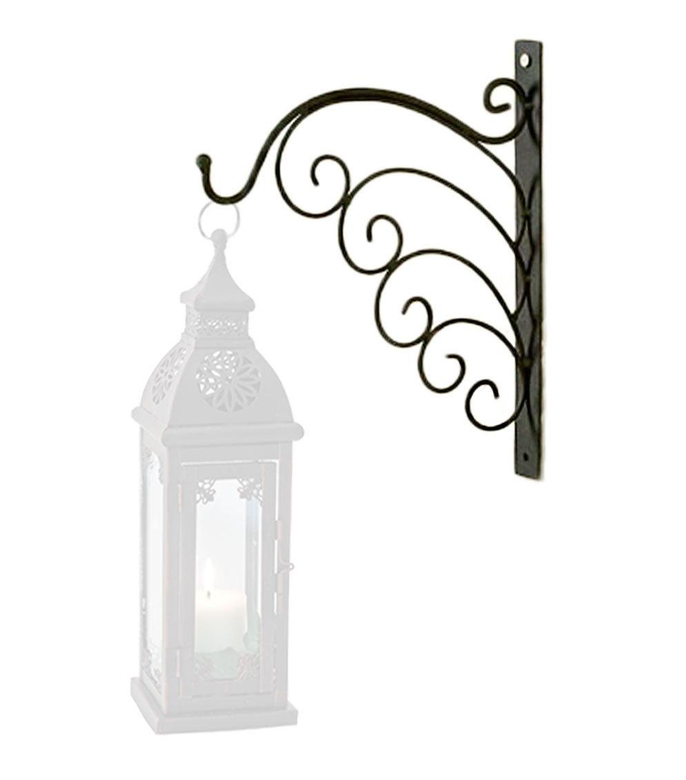wandhalter wandhalterung metall f r laterne oder windlicht. Black Bedroom Furniture Sets. Home Design Ideas