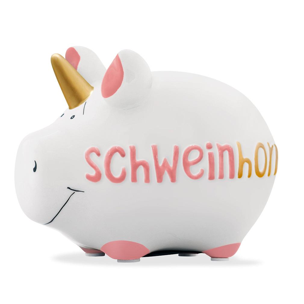 Sparschwein Einhorn Spardose Sparbüchse Keramik Geldgeschenk sparen