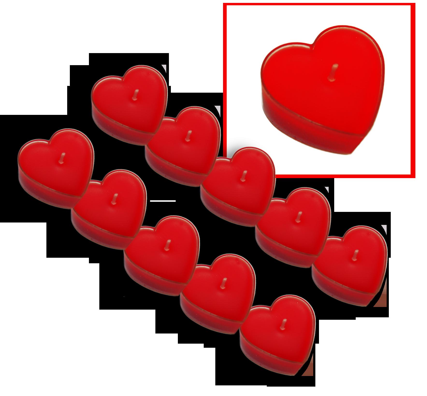 Teelicht/Kerze Herz